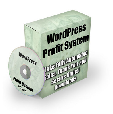 Pay for Wordpress Profit System- Plugin