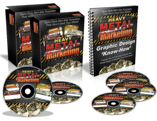 Pay for Heavy Metal Marketing Templates