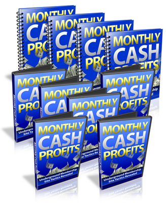 Pay for Monthly Cash Profits Workshop
