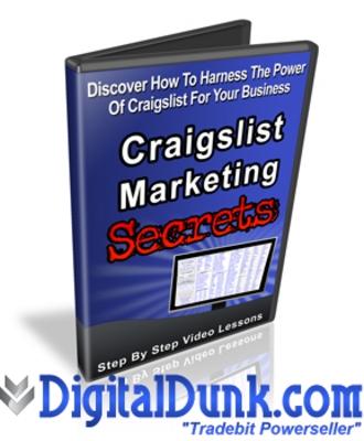Craigslist marketing secrets download video tutorials for Trading websites like craigslist