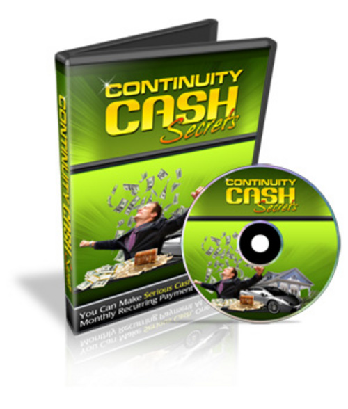Pay for Continuity Cash Secrets - Personal Use