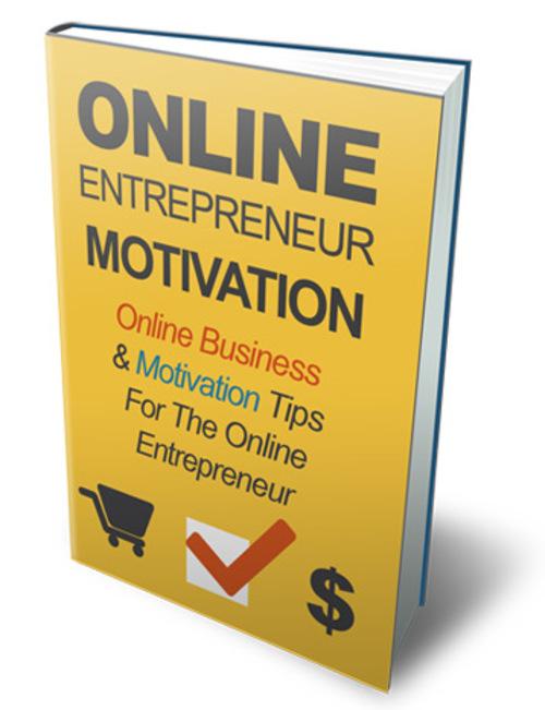 Pay for Online Entrepreneur Motivation