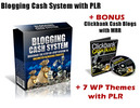 Thumbnail Blogging Cash System with PLR