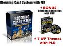 Thumbnail Blogging Cash System with PLR
