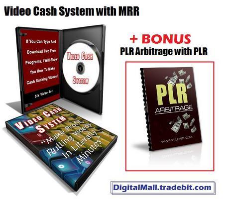 Pay for Video Cash System MRR + BONUS PLR
