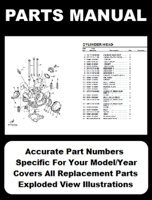 Pay for YAMAHA TT250 PARTS MANUAL CATALOG DOWNLOAD 1982