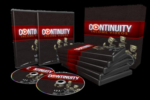 Pay for How To Quickly & Easily Create Continuity Income Streams...