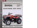 Honda Rancher 350 2004 Service Repair Manual Download