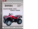 Honda Rancher 350 2004-2006 Service Repair Manual Download