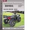 Honda Rancher 350 2005 Service Repair Manual Download
