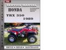 Thumbnail Honda TRX 350 1989 Service Repair Manual Download