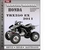 Thumbnail Honda TRX250 EX 2011 Service Repair Manual Download