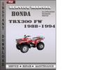 Thumbnail Honda TRX300 FW 1988-1994 Service Repair Manual Download