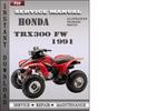 Thumbnail Honda TRX300 FW 1991 Service Repair Manual Download