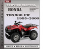 Thumbnail Honda TRX300 FW 1995-2000 Service Repair Manual Download
