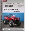 Thumbnail Honda TRX300 FW 1996 Service Repair Manual Download