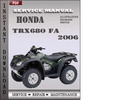 Thumbnail Honda TRX680 FA 2006 Service Repair Manual Download