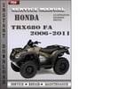 Thumbnail Honda TRX680 FA 2006-2011 Service Repair Manual Download
