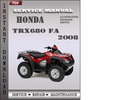 Thumbnail Honda TRX680 FA 2008 Service Repair Manual Download