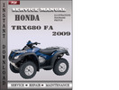 Thumbnail Honda TRX680 FA 2009 Service Repair Manual Download