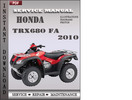 Thumbnail Honda TRX680 FA 2010 Service Repair Manual Download