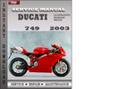 Thumbnail Ducati 749 2003 Service Repair Manual Download