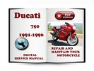 Thumbnail Ducati 750 1991-1996 Service Repair Manual Download