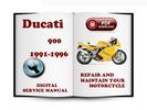 Thumbnail Ducati 900 1991-1996 Service Repair Manual Download