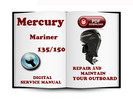 Thumbnail Mercury Mariner Outboard 135 150 Hp Optimax Service Repair Manual Download