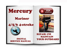 Thumbnail Mercury Mariner Outboard 4 5 6 Hp 4-stroke Service Repair Manual Download