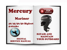 Thumbnail Mercury Mariner Outboard 40 45 50 50BIGFOOT Hp 4-stroke Service Repair Manual Download