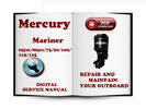 Thumbnail Mercury Mariner Outboard  65jet 80jet 75 90 100 115 125 HP 2-stroke  Service Repair Manual Download