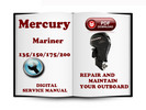 Thumbnail Mercury Mariner Outboard  135 150 175 200 HP 2-stroke Service Repair Manual Download