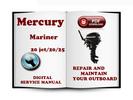 Thumbnail Mercury Mariner Outboard 20jet 20 25 HP 2-stroke Service Repair Manual Download