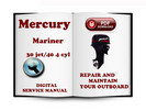Thumbnail Mercury Mariner Outboard 30jet 40 HP (4cyl) 2-stroke Service Repair Manual Download