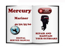 Thumbnail Mercury Mariner Outboard 40 50 55 60 HP 2-stroke Service Repair Manual Download