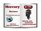 Thumbnail Mercury Mariner Outboard 70 75 80 90 100 115 Hp 2-stroke Service Repair Manual Download