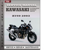 Thumbnail Kawasaki Z750 2003 Service Repair Manual Download