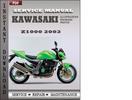 Thumbnail Kawasaki Z1000 2003 Service Repair Manual Download