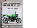 Thumbnail Kawasaki ZX6R 2005 Service Repair Manual Download