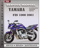 Thumbnail Yamaha FZS 1000 2001 Service Repair Manual Download