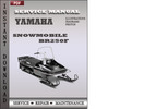 Thumbnail Yamaha Snowmobile BR250F Service Repair Manual Download