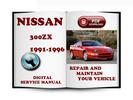 Thumbnail Nissan 300ZX 1991-1996 Z32 Service Repair Manual Download