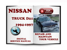Thumbnail Nissan Truck 1994-1997 D21 Service Repair Manual Download