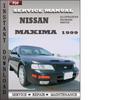 Thumbnail Nissan Maxima 1999 Service Repair Manual Download