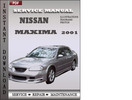 Thumbnail Nissan Maxima 2001 Service Repair Manual Download