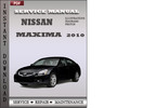 Thumbnail Nissan Maxima 2010 Service Repair Manual Download
