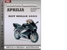 Thumbnail Aprilia RST Mille 2002 Service Repair Manual Download