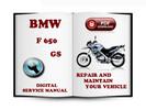 Thumbnail BMW F 650 GS Service Repair Manual Download