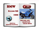 Thumbnail BMW K 1100 RS 1999 Service Repair Manual Download